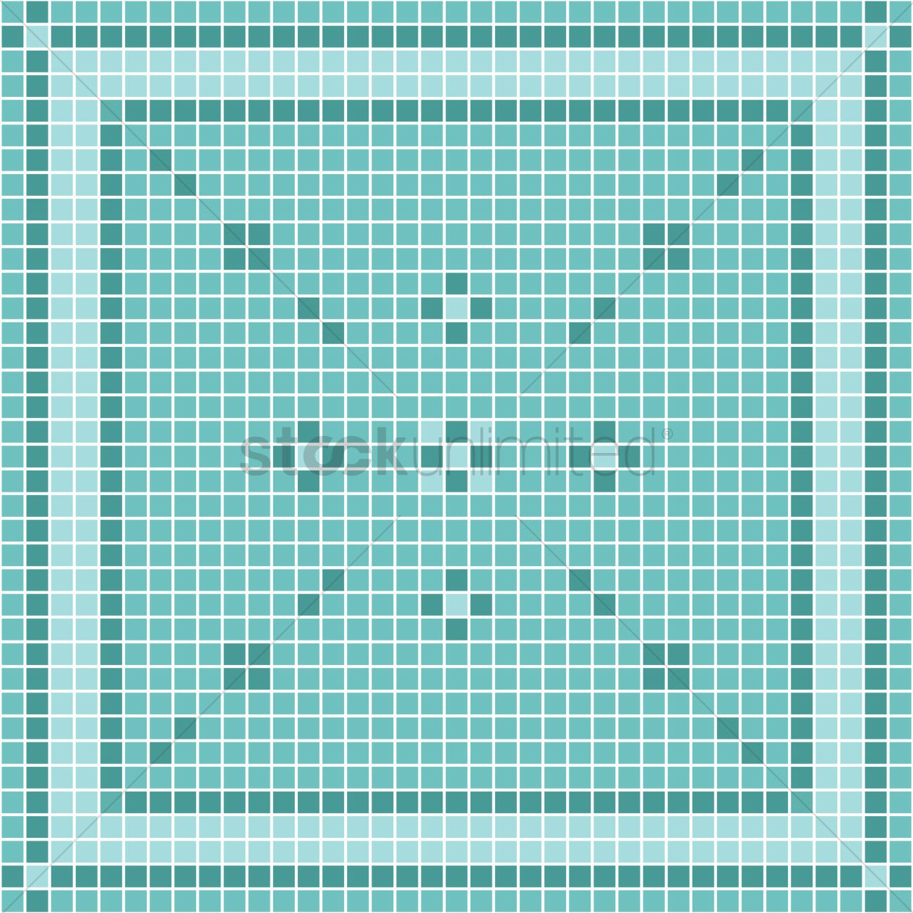 Mosaic tiles background Vector Image - 1562934 | StockUnlimited