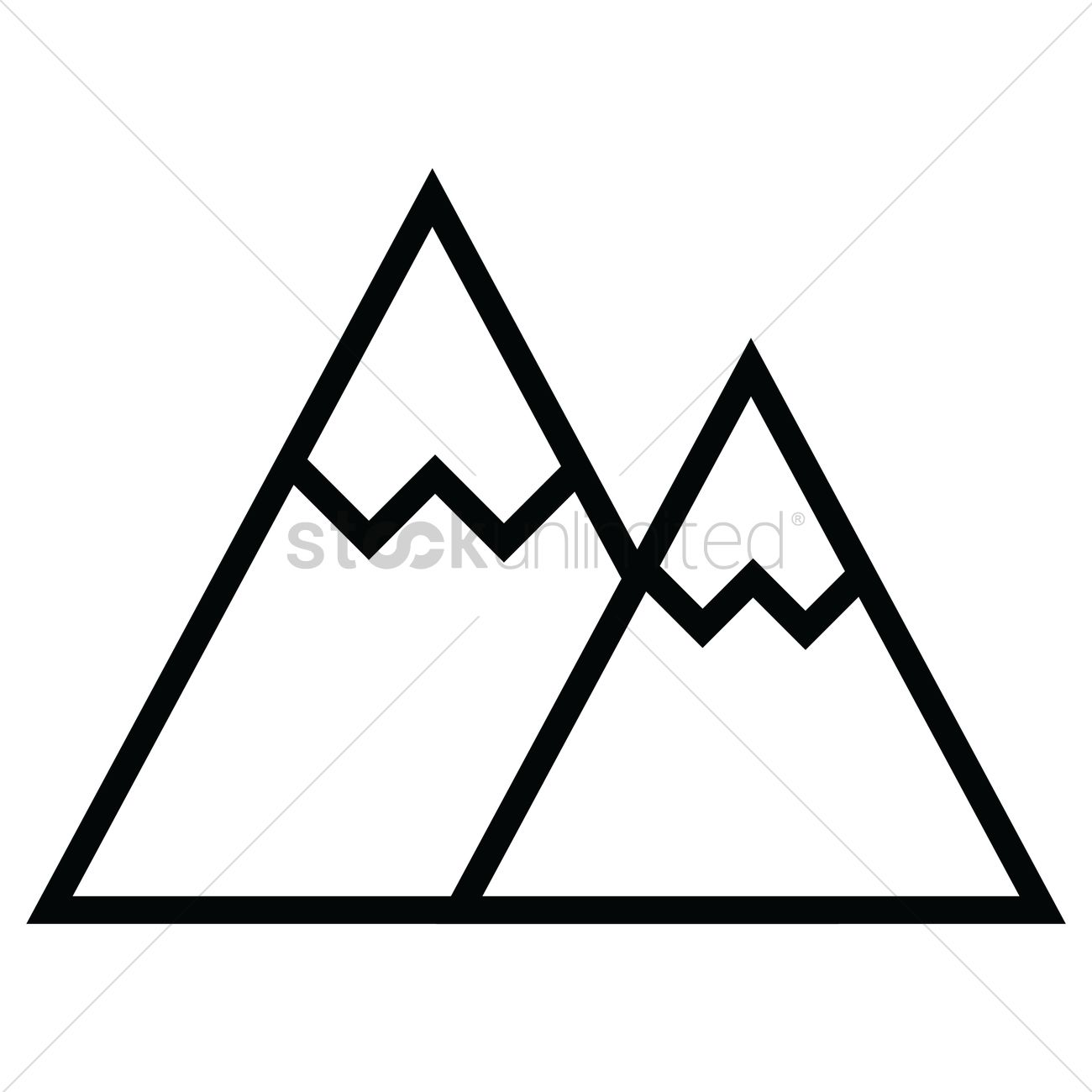 Mountains Vector Image - 1697562 | StockUnlimited