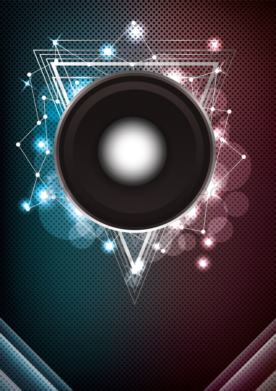 Music Event Background Concept Vector Image 1934390 Stockunlimited
