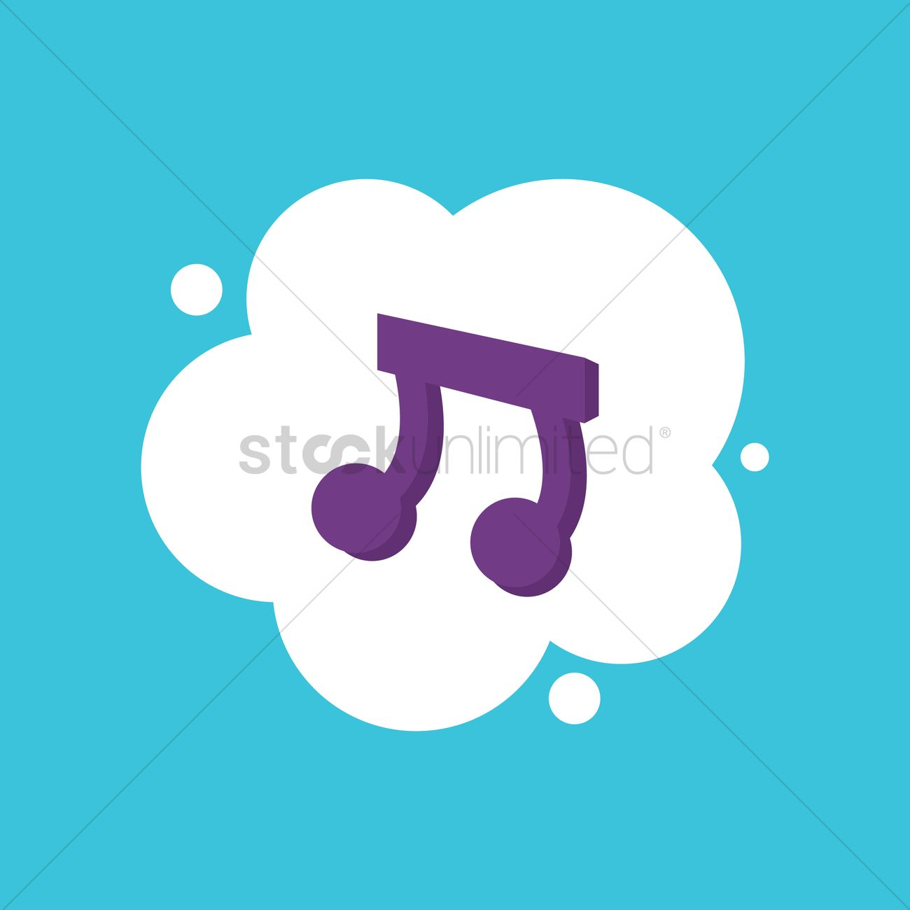 musical notes vector image 1413902 stockunlimited rh stockunlimited com Music Note Icon Vector Music Notes Vector Art Free