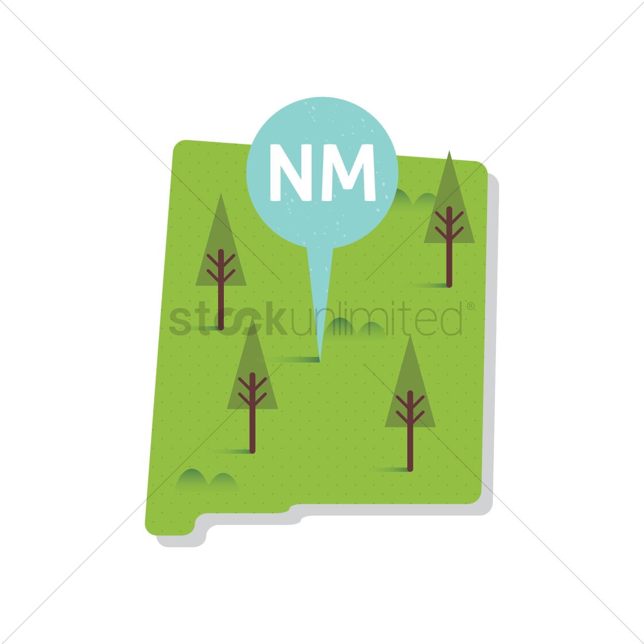 Free New Mexico Map.Free New Mexico State Map Vector Image 1557054 Stockunlimited