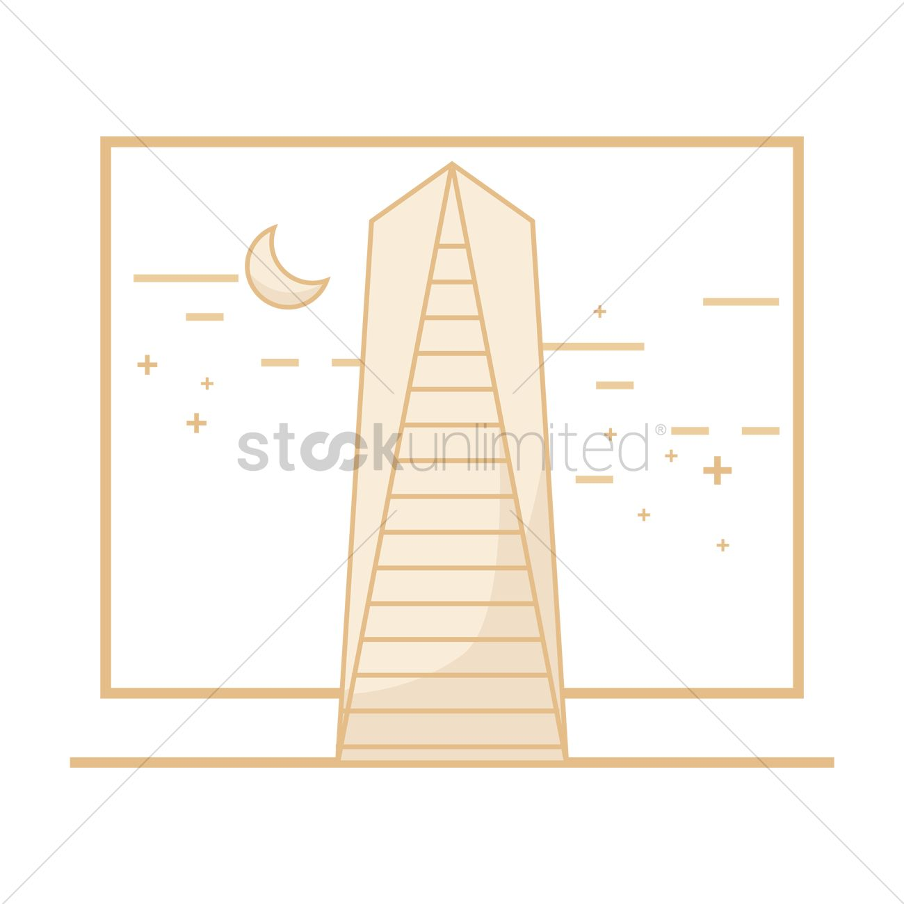Northeast asia trade tower incheon Vector Image - 2014766