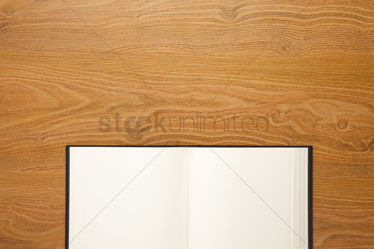 open book on desk background with copyspace stock photo 1955882