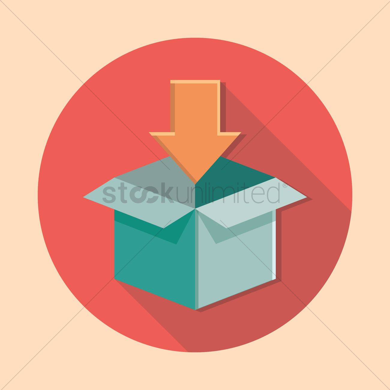Opened cardboard box with arrow pointing down vector image 1378946 opened cardboard box with arrow pointing down vector graphic biocorpaavc Choice Image