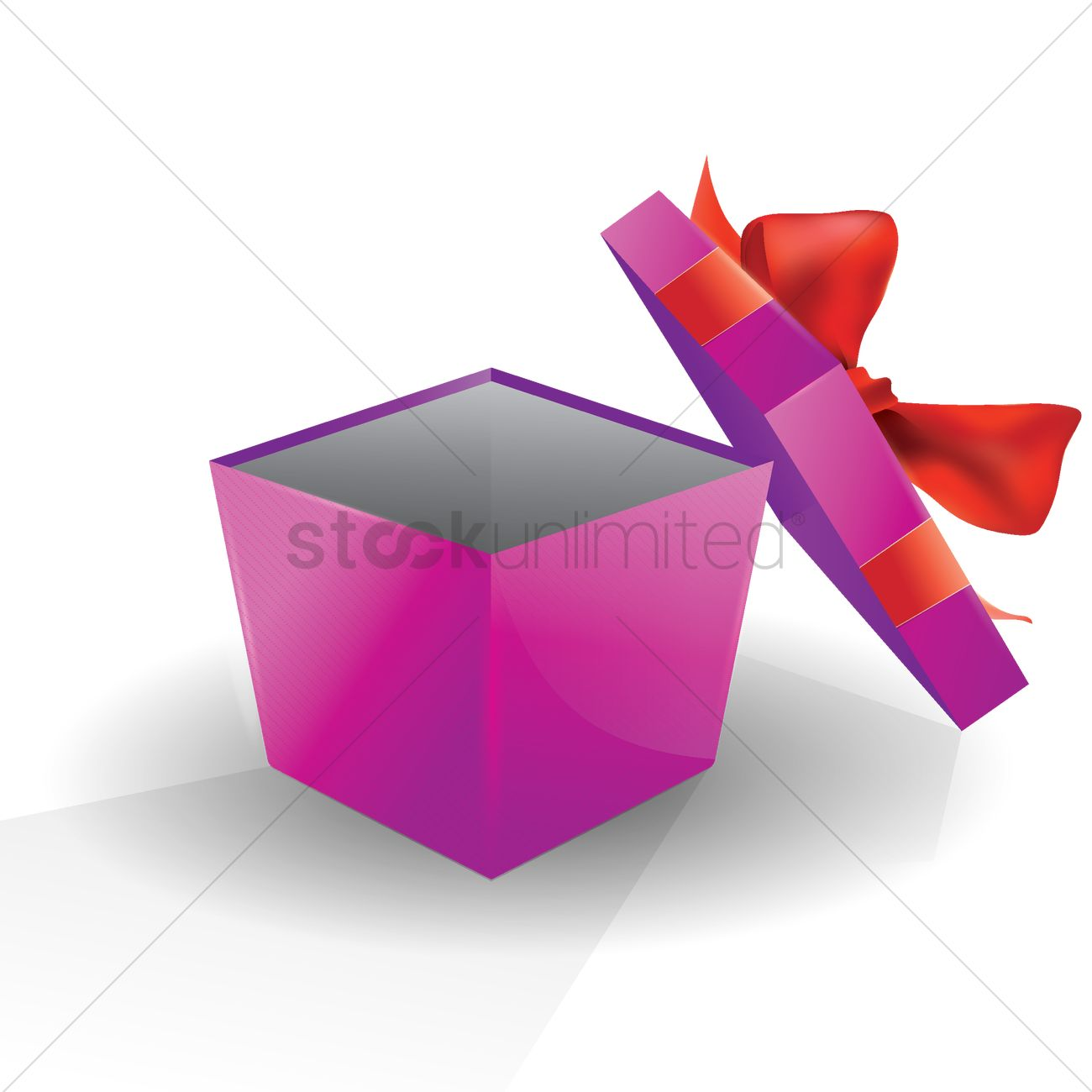 bb50a920aa043 Opened gift box Vector Image - 1935458
