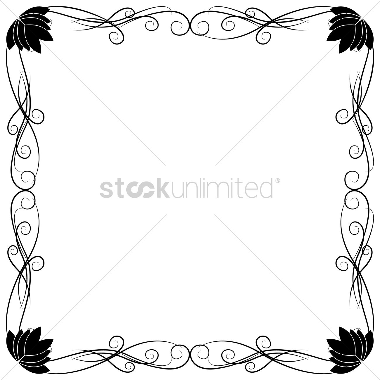 Ornamental Frames Vector - Clipart &vector Labs :) •