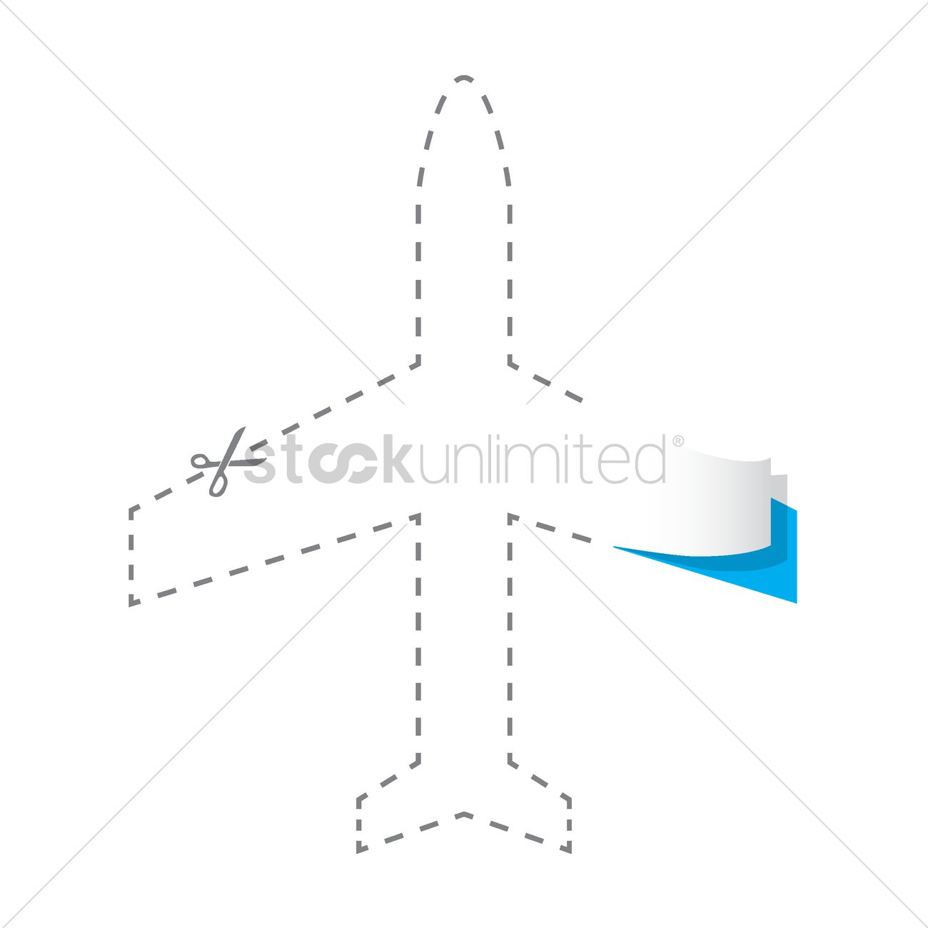 Paper cut out of aeroplane vector image 1504806 stockunlimited paper cut out of aeroplane vector graphic buycottarizona Gallery