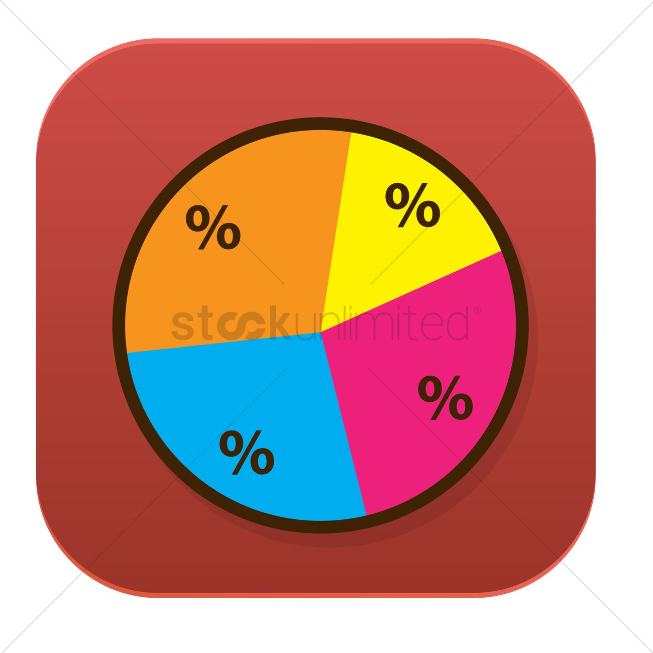 Free Pie Chart Vector Image 1241510 Stockunlimited