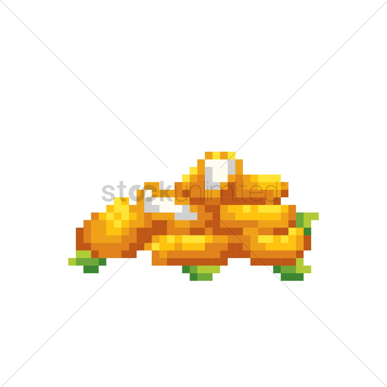 Pixel Art Nuggets Vector Image 1987382 Stockunlimited