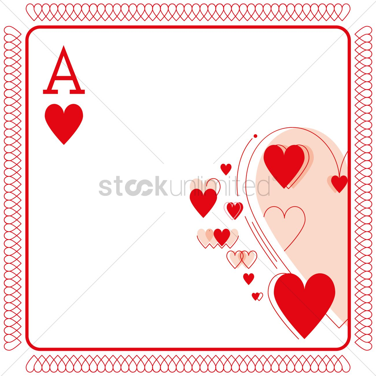 playing cards background vector image  1323634
