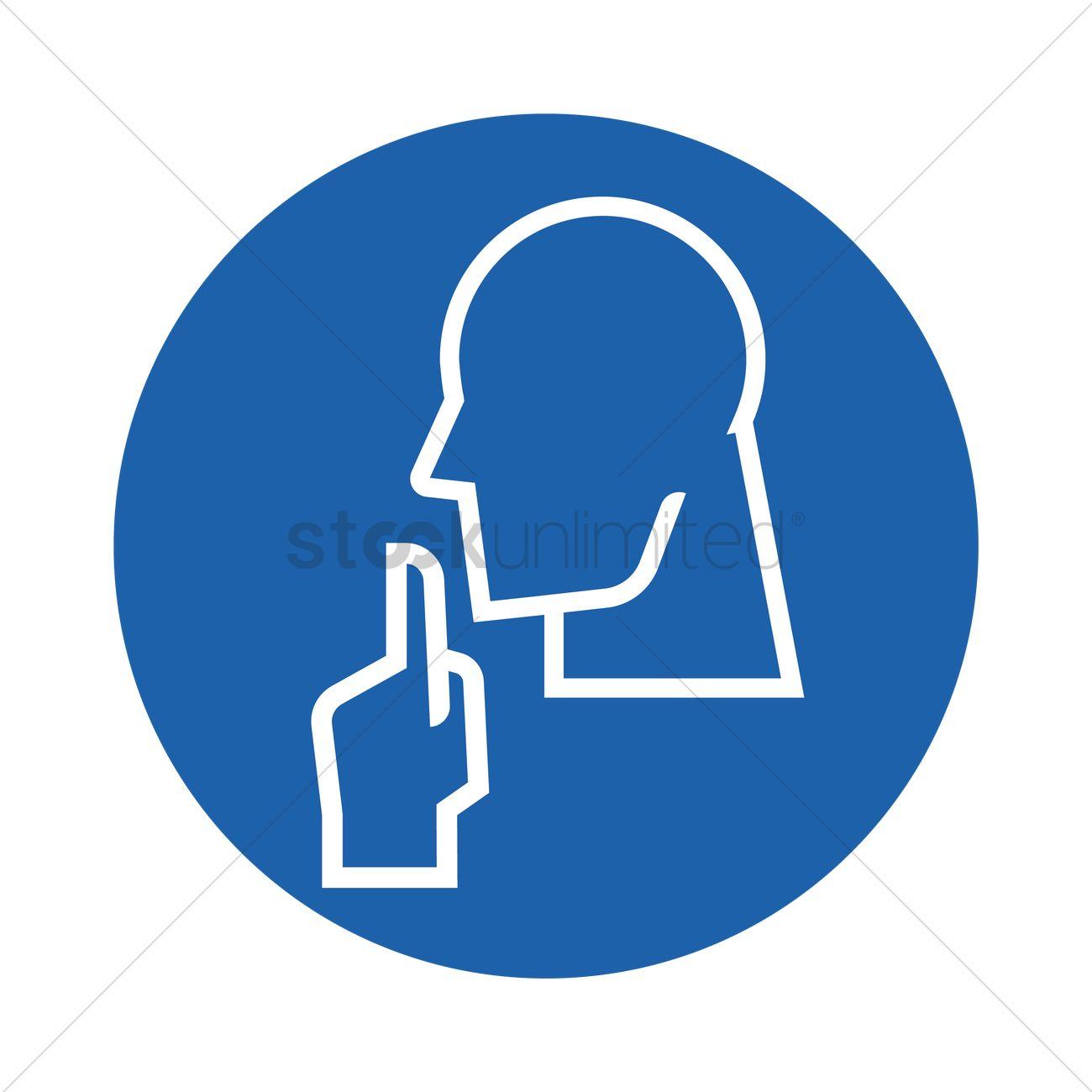 Please be quiet sign vector image 1505390 stockunlimited please be quiet sign vector graphic buycottarizona