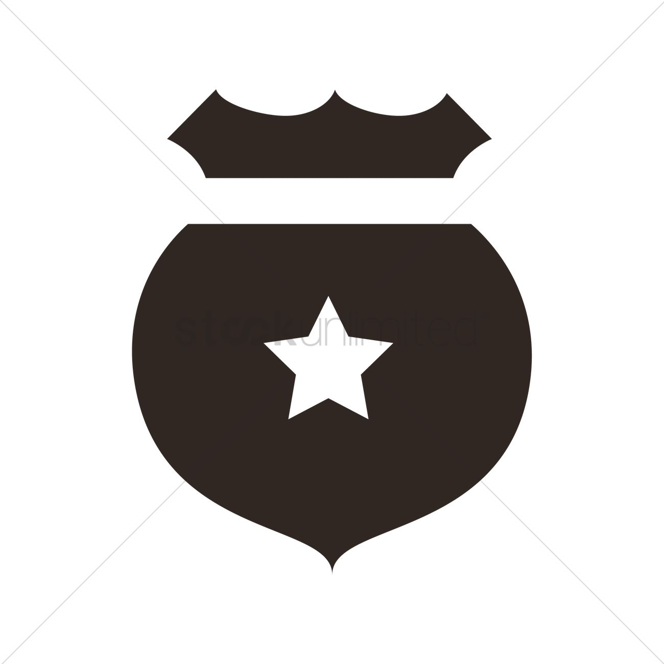 Police Badge Vector Image 2006190 Stockunlimited