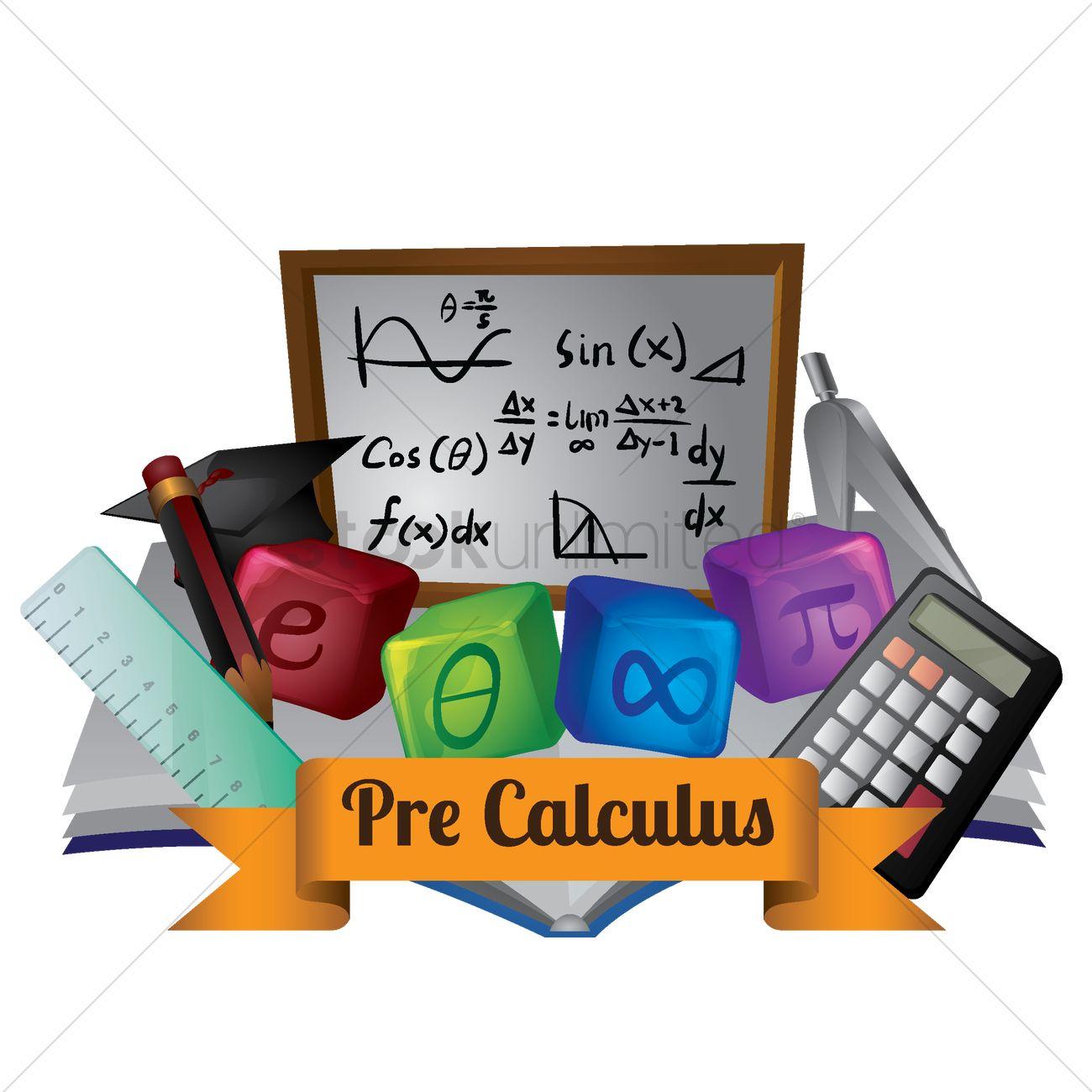 Precalculus concept Vector Image - 2004114 | StockUnlimited