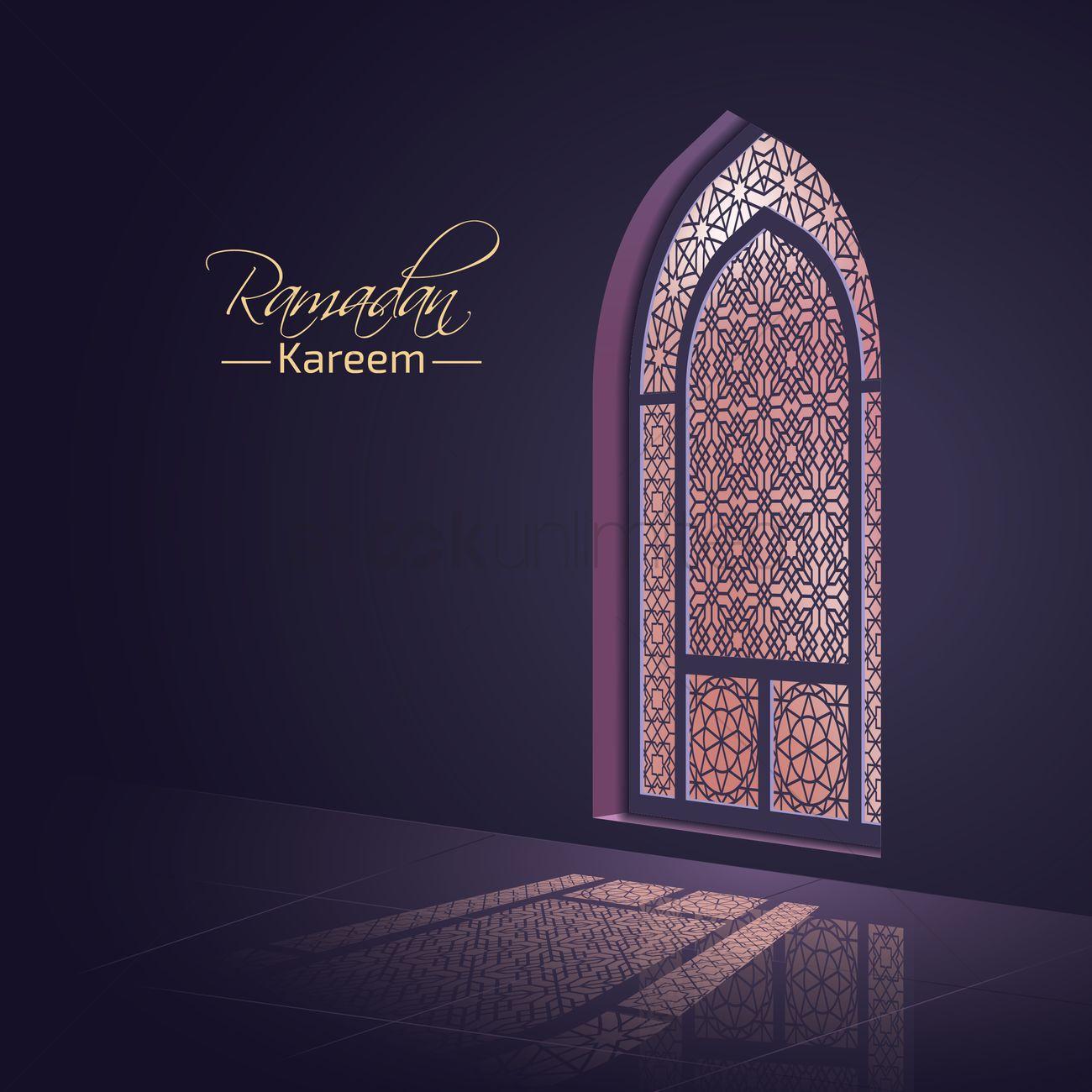 Ramadan Kareem Greeting Vector Image 1826922 Stockunlimited