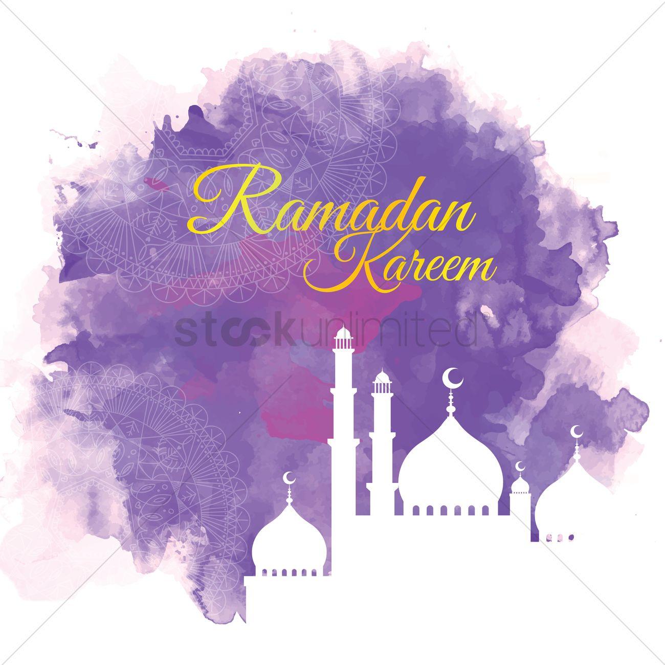 Ramadan Kareem Greeting Vector Image 1827006 Stockunlimited