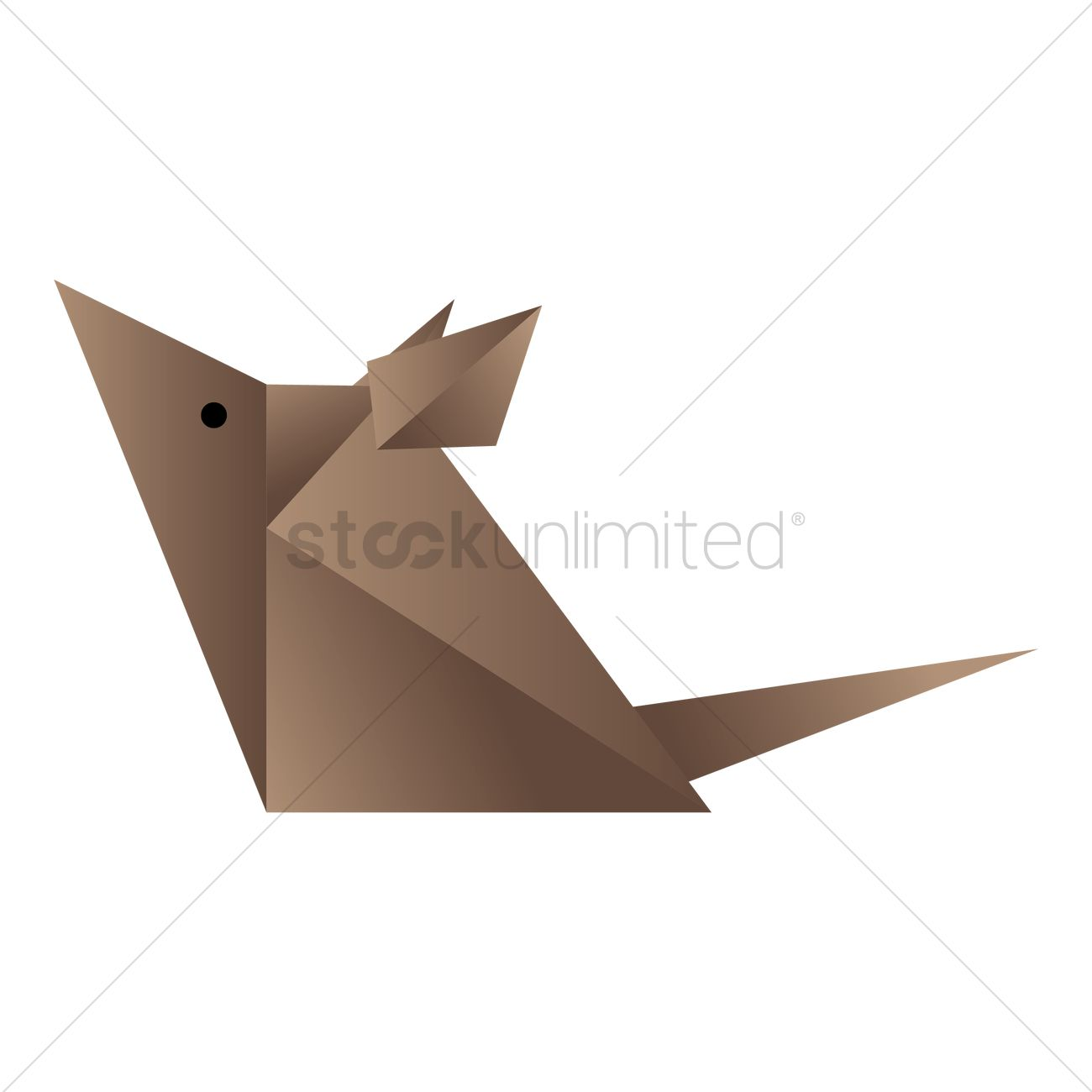 Rat origami vector clipart library rat origami vector image 1472102 stockunlimited rh stockunlimited com origami rat hat easy origami rat jeuxipadfo Images