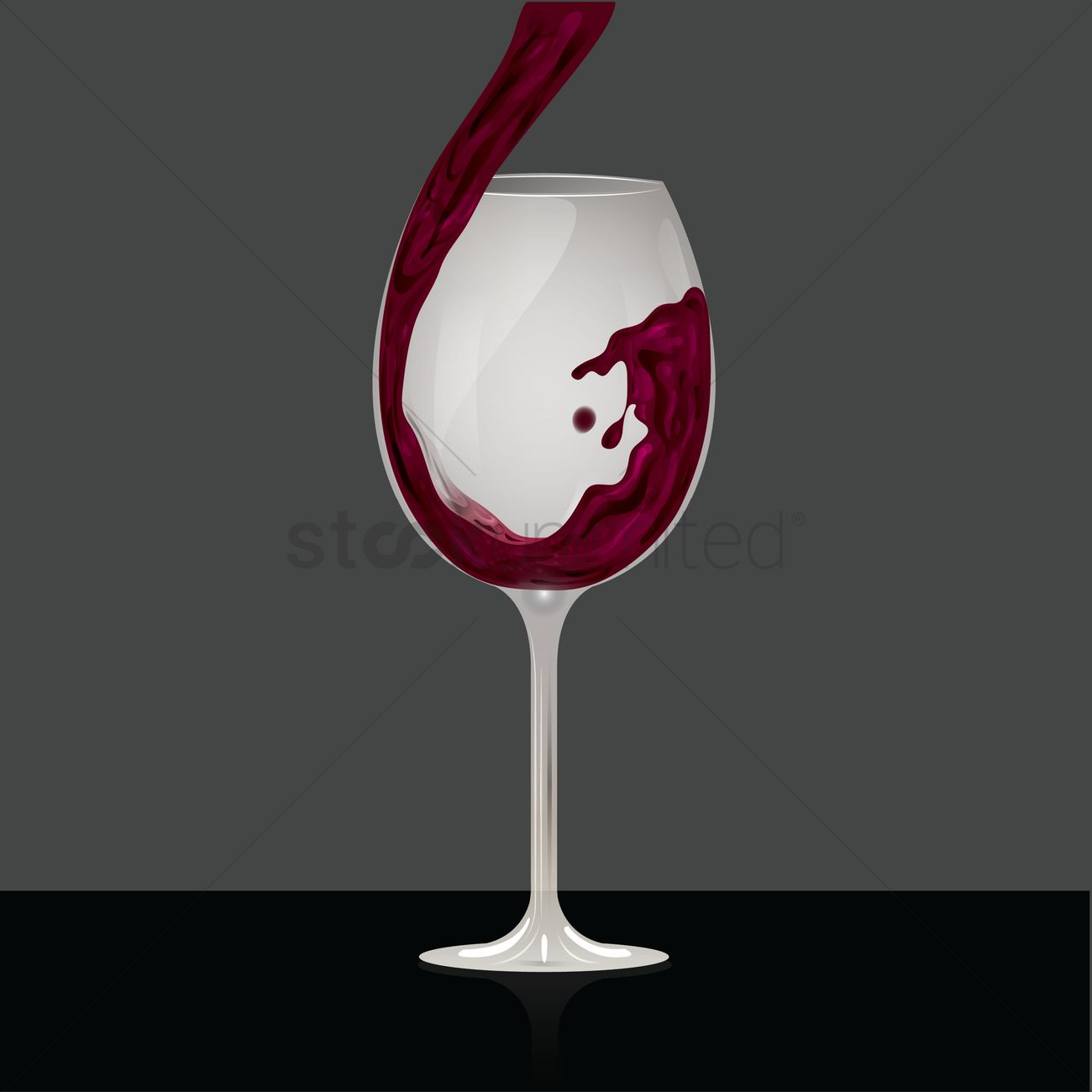 red wine pouring into glass vector image 1517650 stockunlimited