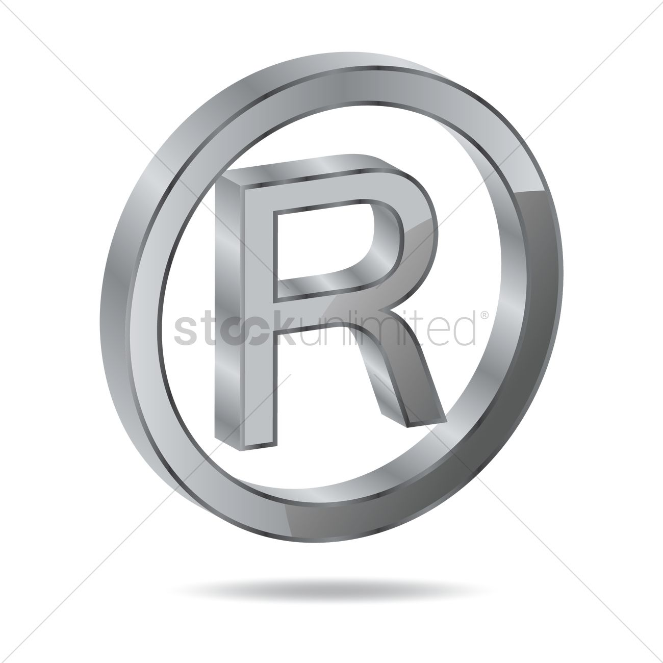 Registered Trademark Symbol Vector Image 1631446 Stockunlimited