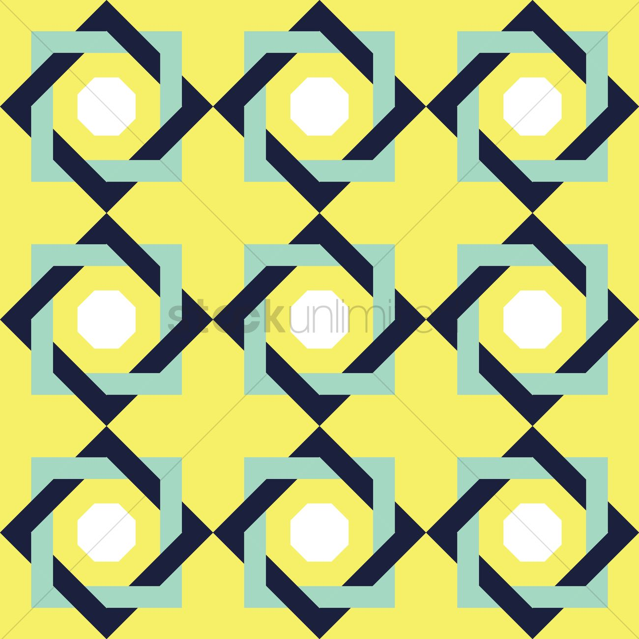 Repetitive Pattern Background Vector Image 1936610 Stockunlimited