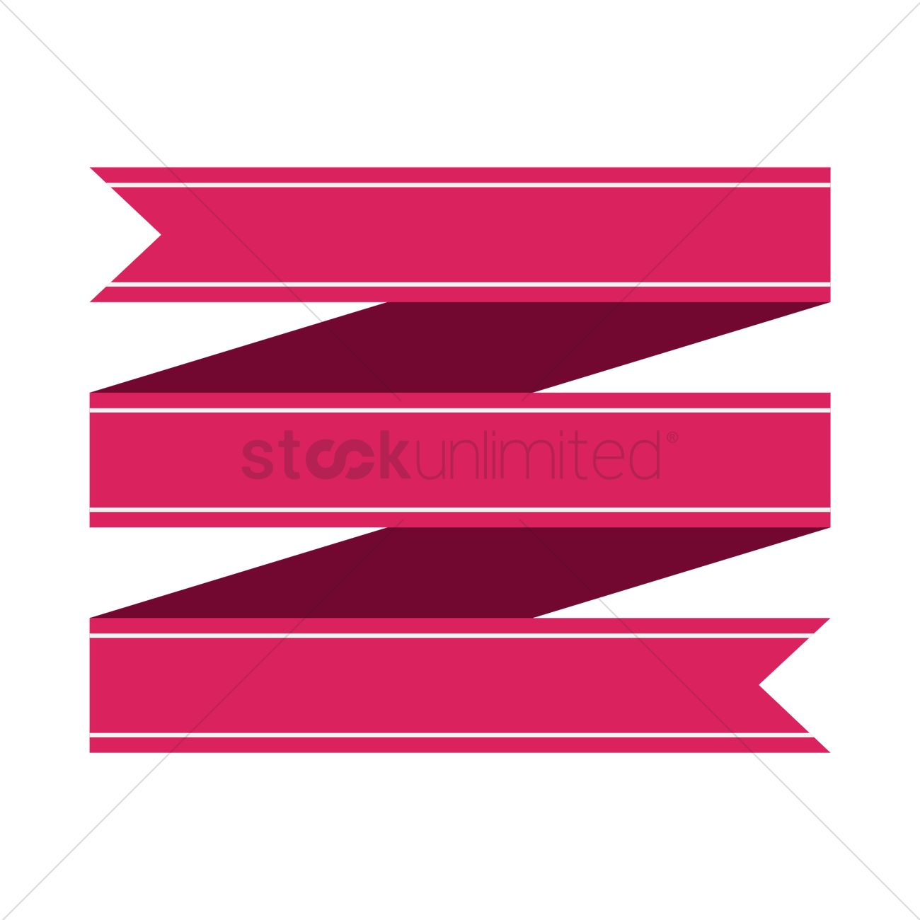 Ribbon banner design Vector Image - 1467046 | StockUnlimited for Vector Banner Graphics Design Png  131fsj
