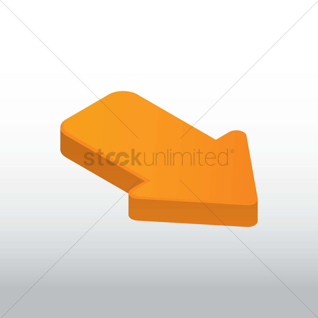 Right Side Arrow Vector Image 1631410 Stockunlimited
