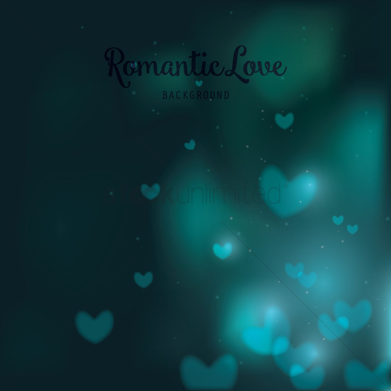Romantic Love Background Vector Image 1800042 Stockunlimited