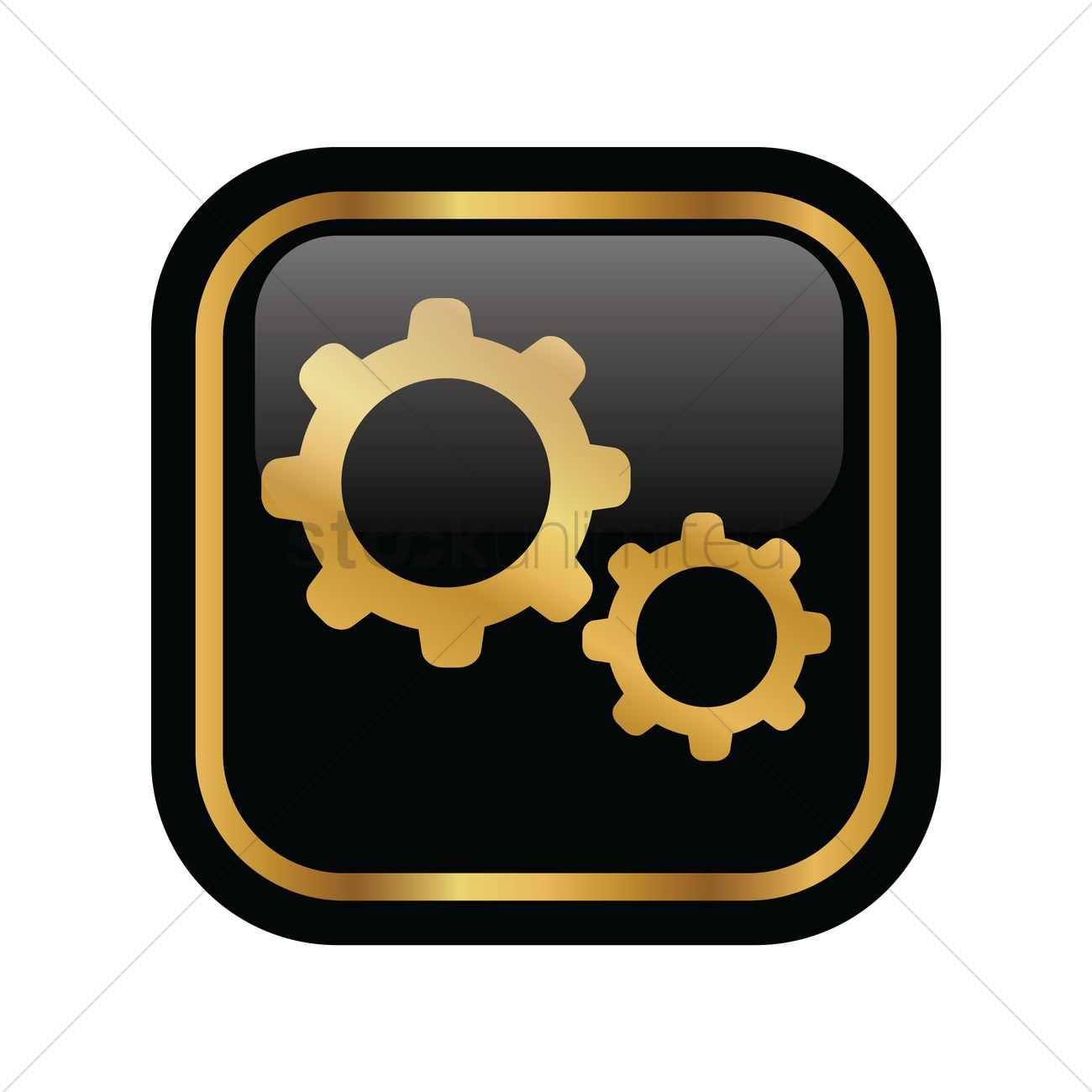 Settings icon Vector Image - 1949902 | StockUnlimited