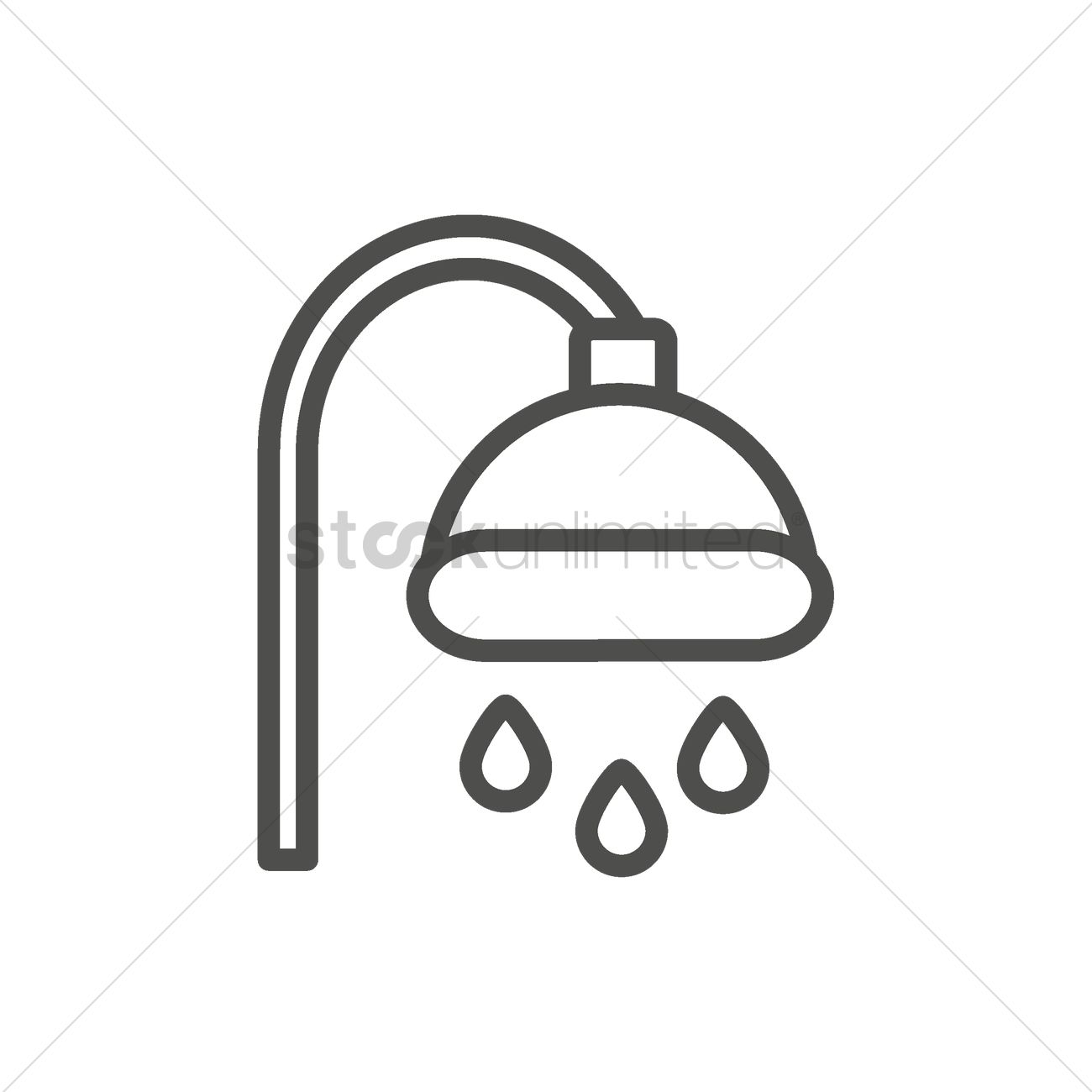 Shower Head Vector Image 1999634 Stockunlimited