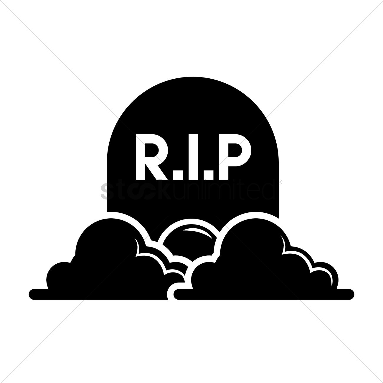 silhouette of a tombstone vector image 1464034 stockunlimited rh stockunlimited com Tombstone Outline Tombstone Clip Art