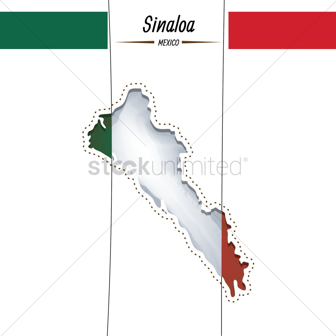 Sinaloa State Map.Sinaloa State Vector Image 2022038 Stockunlimited