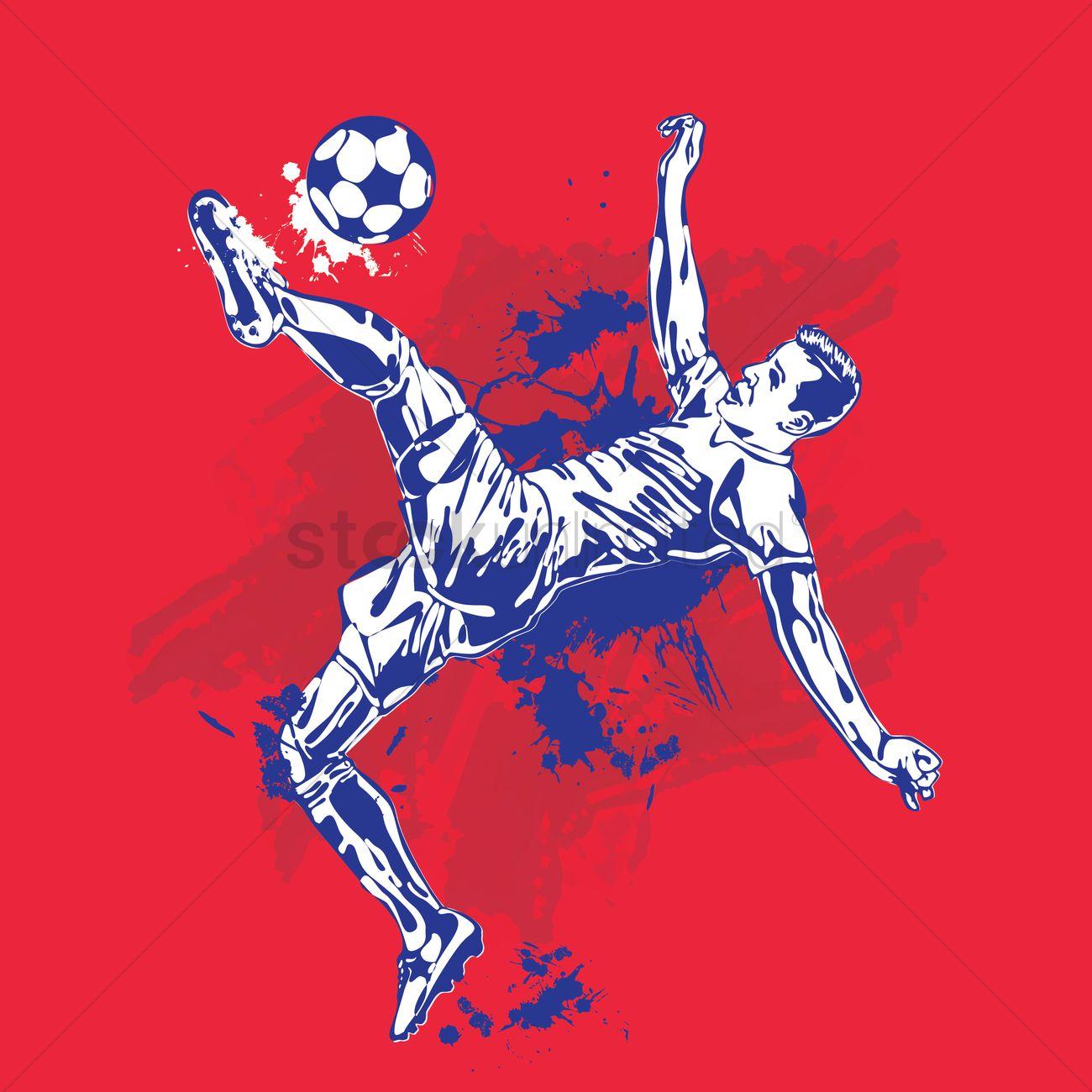 Soccer Wallpaper Vector Image 1817518 Stockunlimited