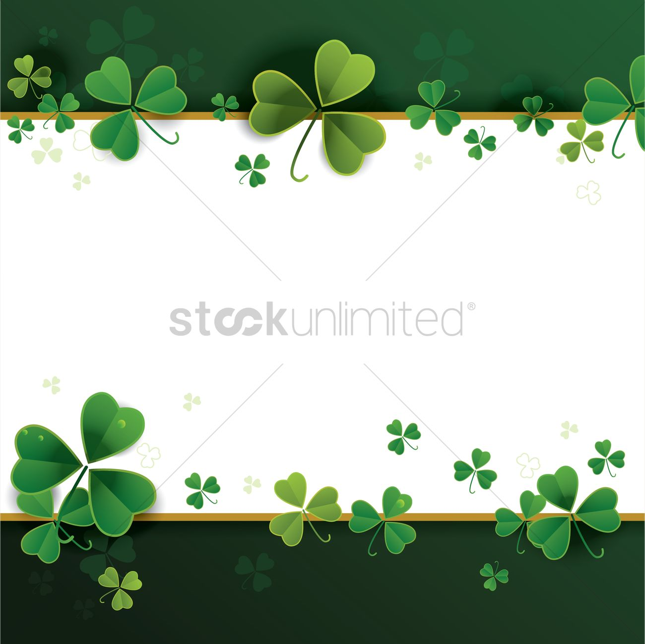 st patricks day theme background vector image 1991590