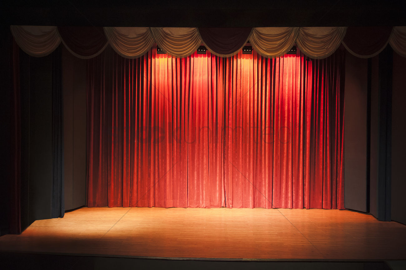 stage of a movie theater stock photo 2098370 stockunlimited