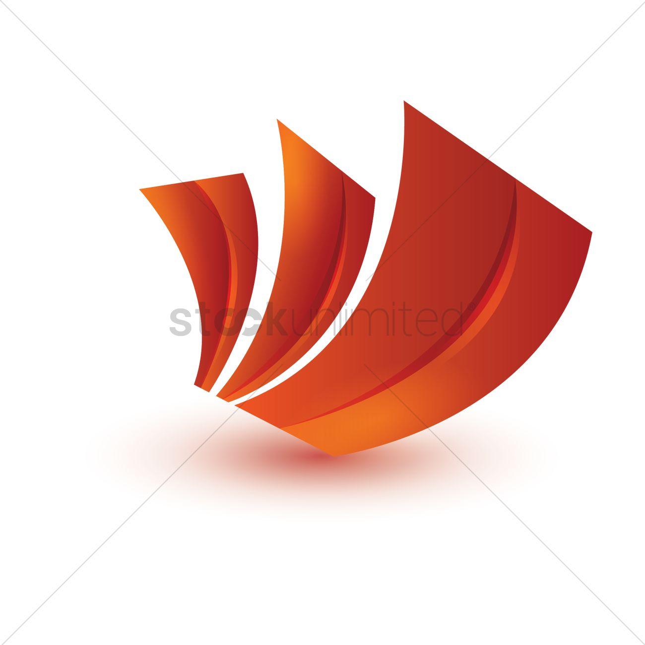 swirl logo element vector image 1938814 stockunlimited