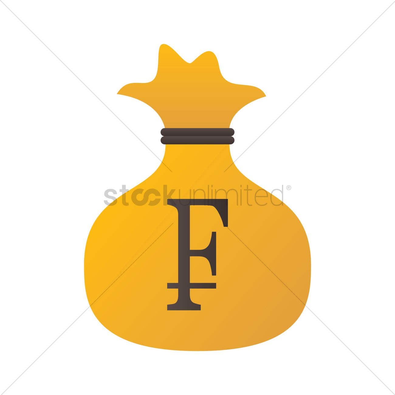 Swiss franc money bag vector image 2034062 stockunlimited swiss franc money bag vector graphic buycottarizona Images