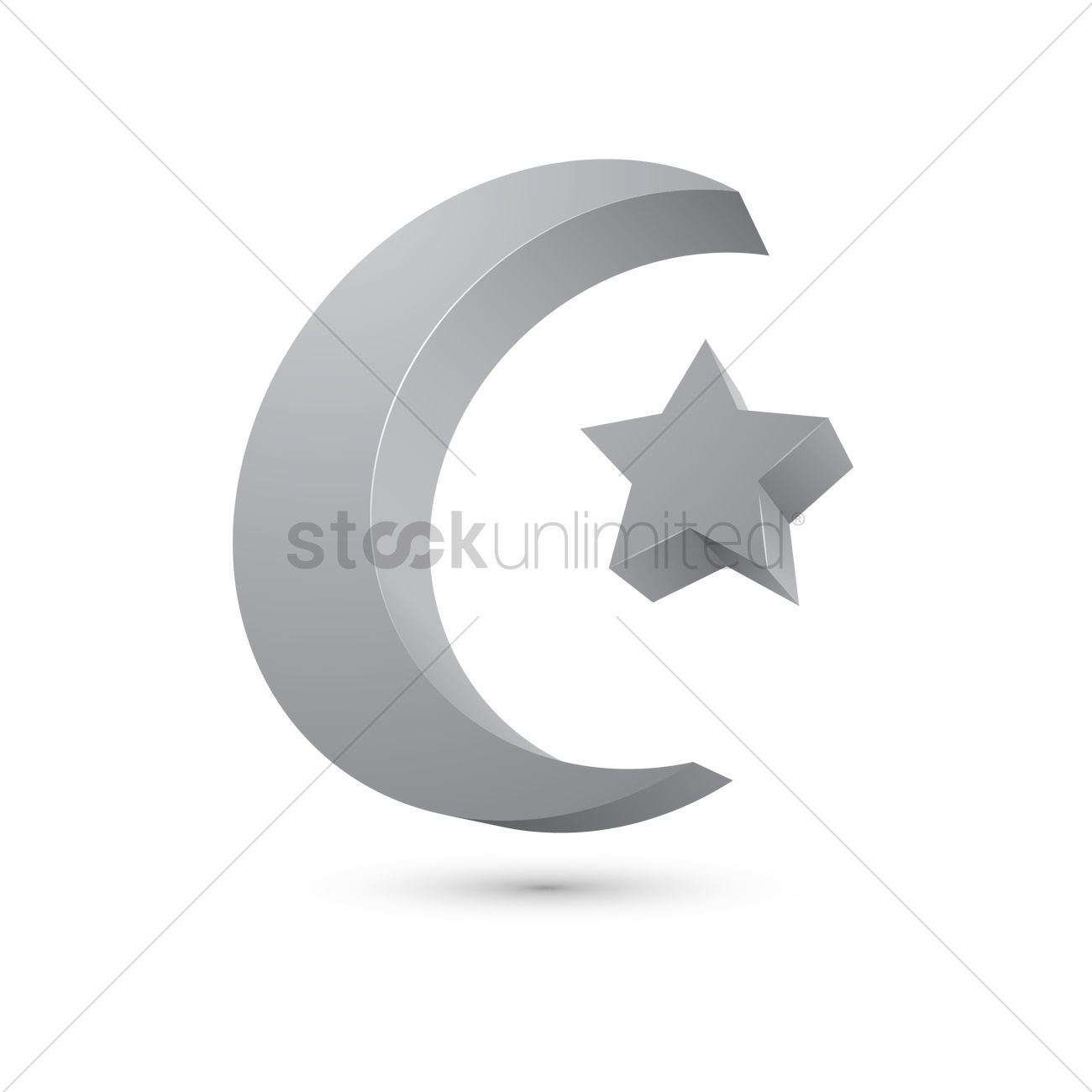 Symbol Of Islam Vector Image 1996930 Stockunlimited