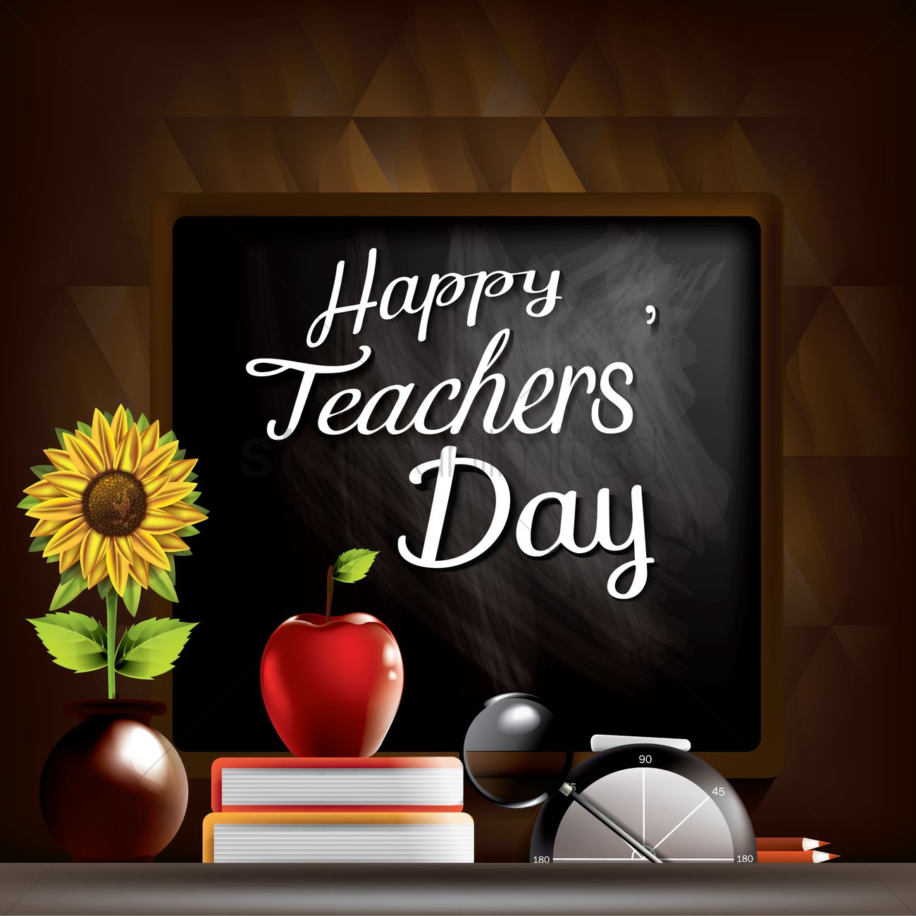 teachers day concept vector image 1996006 stockunlimited