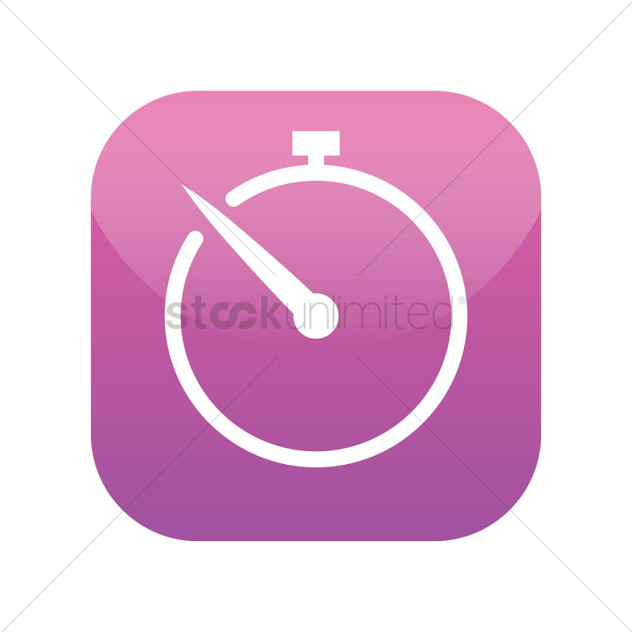 Timer icon Vector Image - 1945490 | StockUnlimited