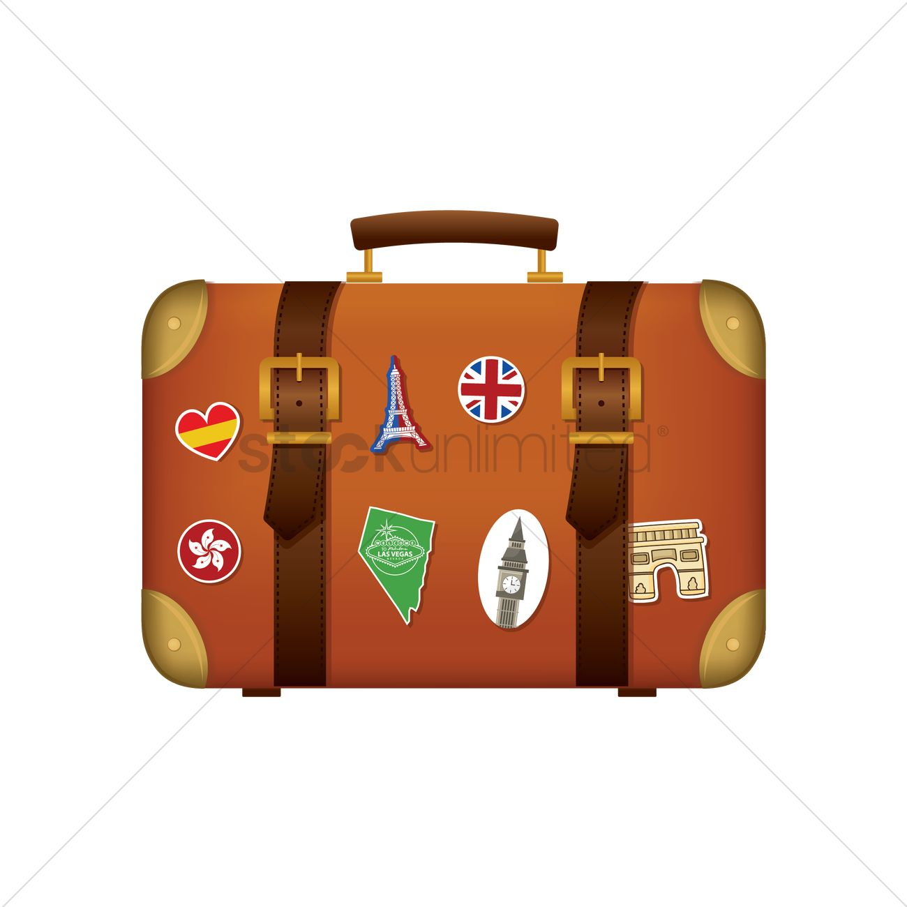 Travel bag icon Vector Image - 1705338 | StockUnlimited