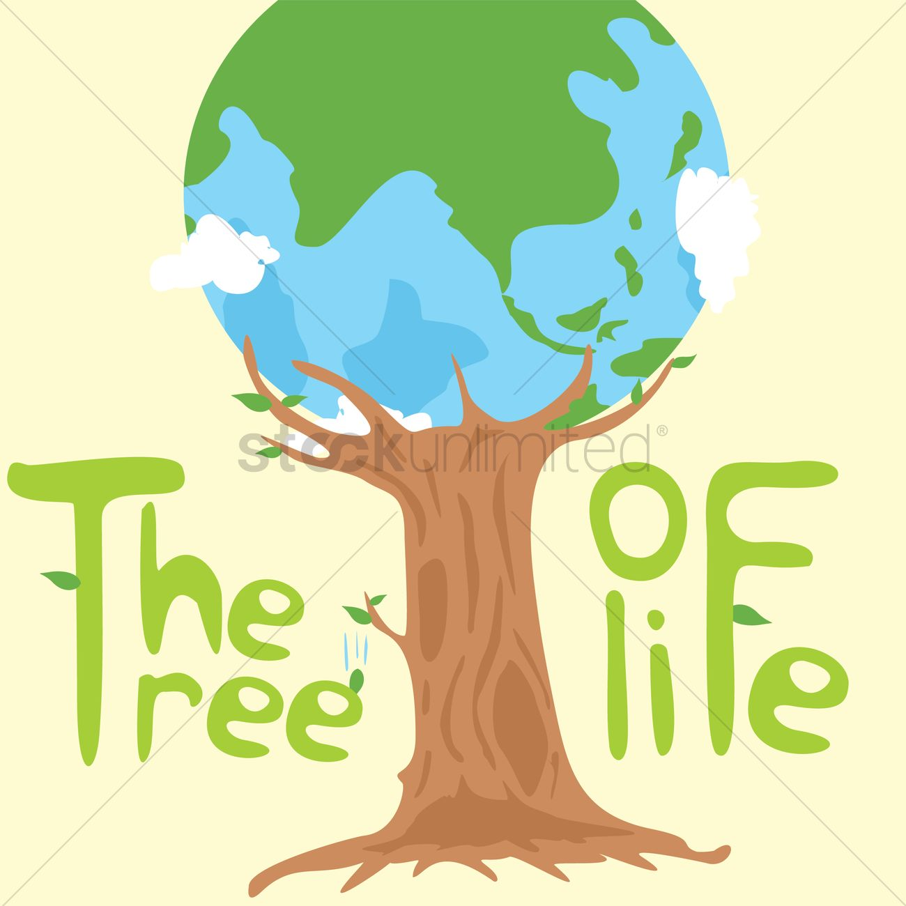 tree of life concept vector image 1390774 stockunlimited