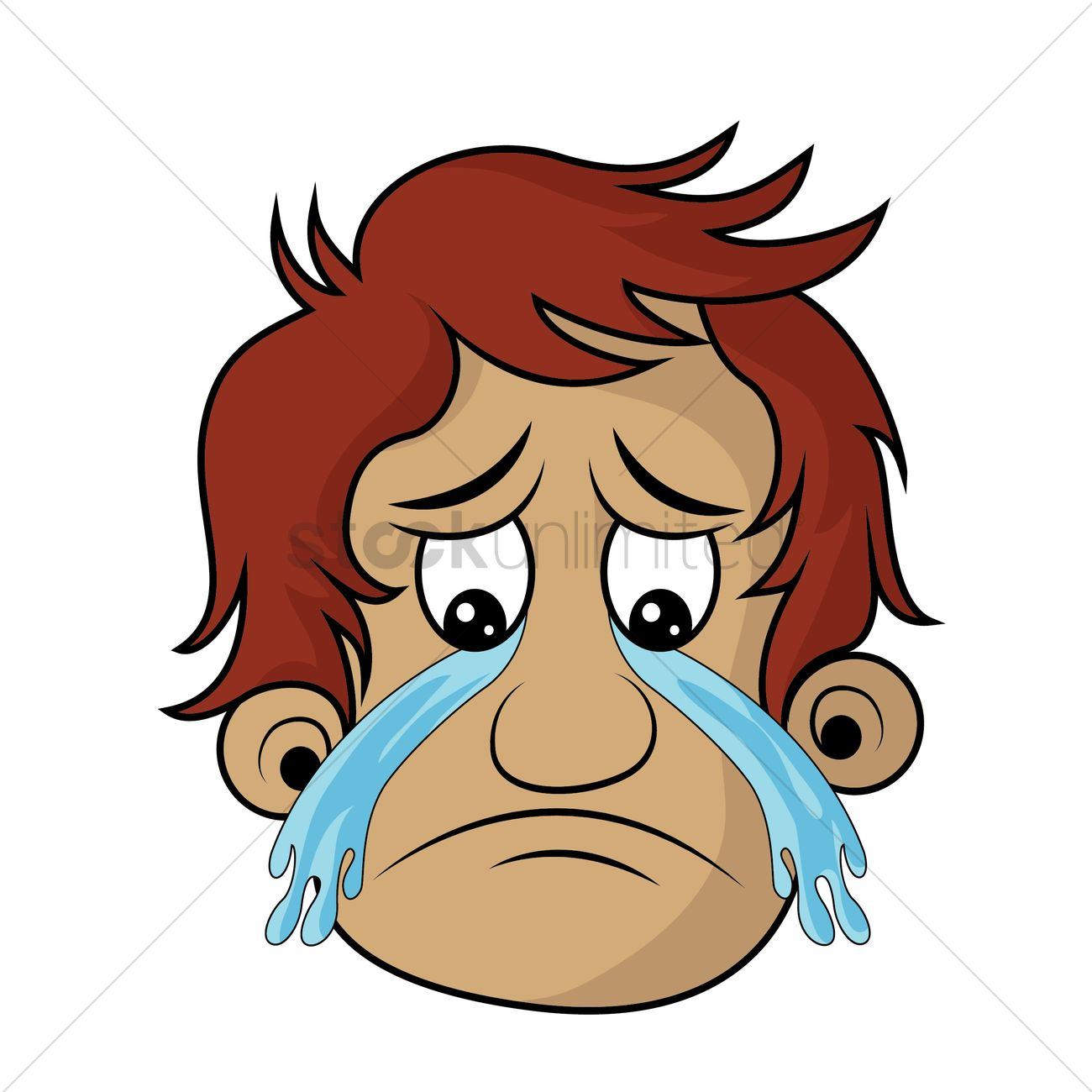 Man Crying Clipart - Clipart For Work