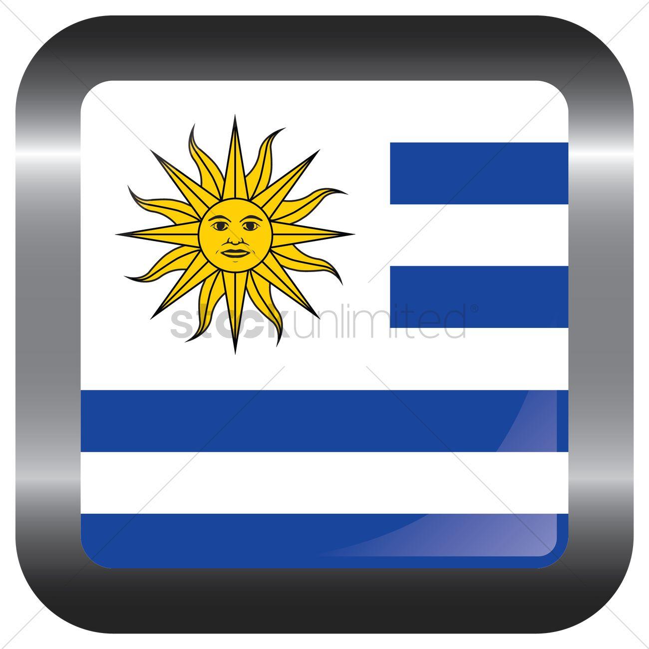 Uruguay Flag Frame Vector Image StockUnlimited - Uruguay flag