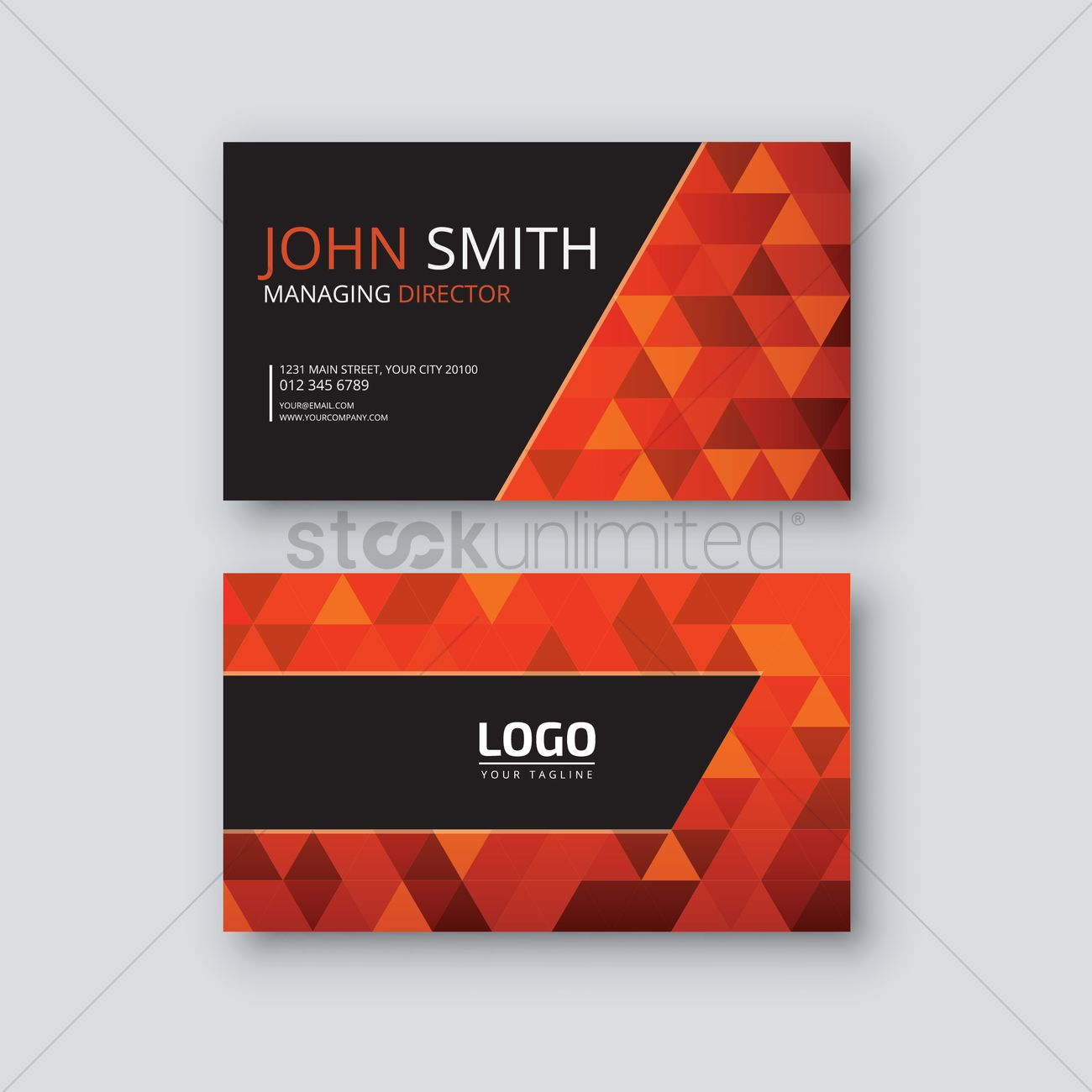 Visiting card vector image 1823278 stockunlimited visiting card vector graphic colourmoves