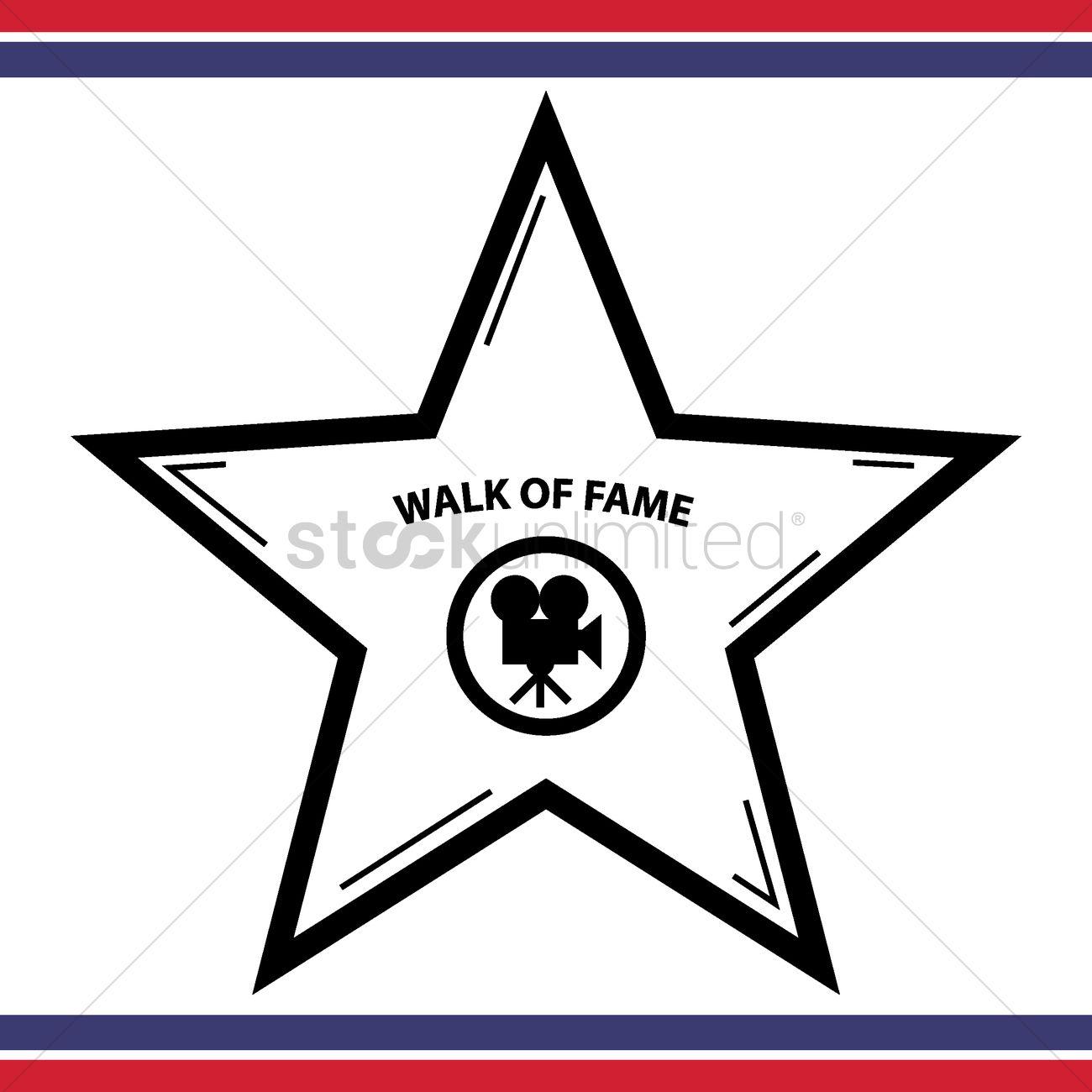 Walk of fame star vector image 1557586 stockunlimited walk of fame star vector graphic freerunsca Choice Image