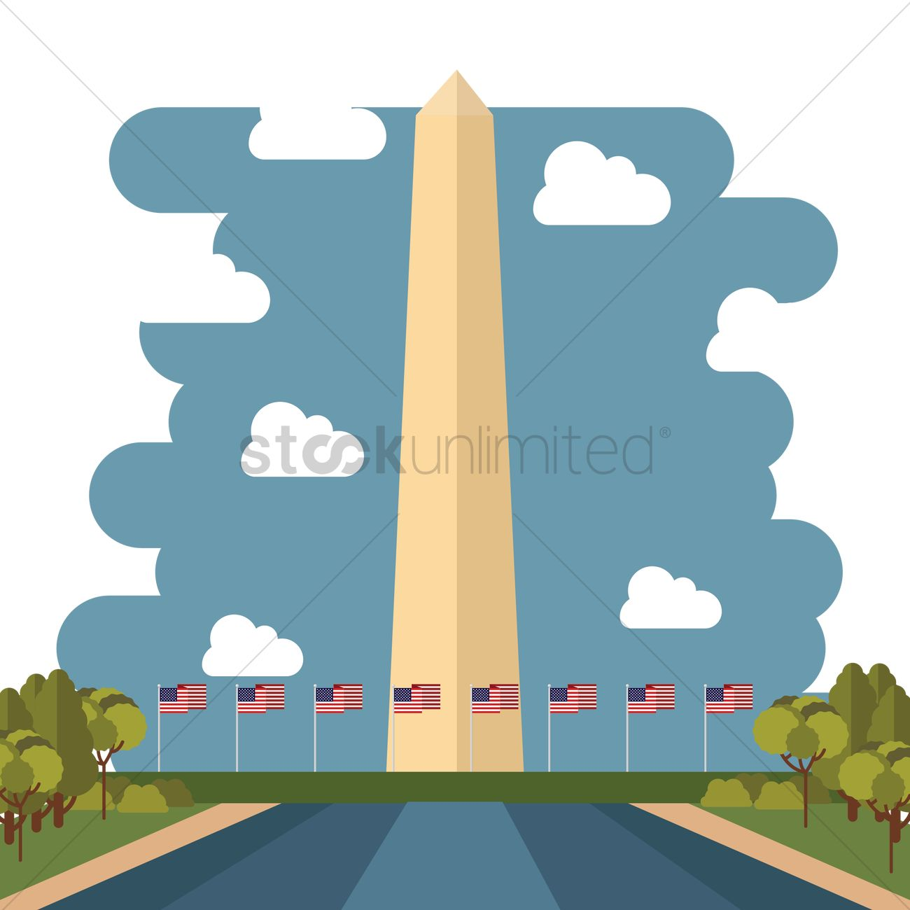 washington monument vector image 1544462 stockunlimited rh stockunlimited com
