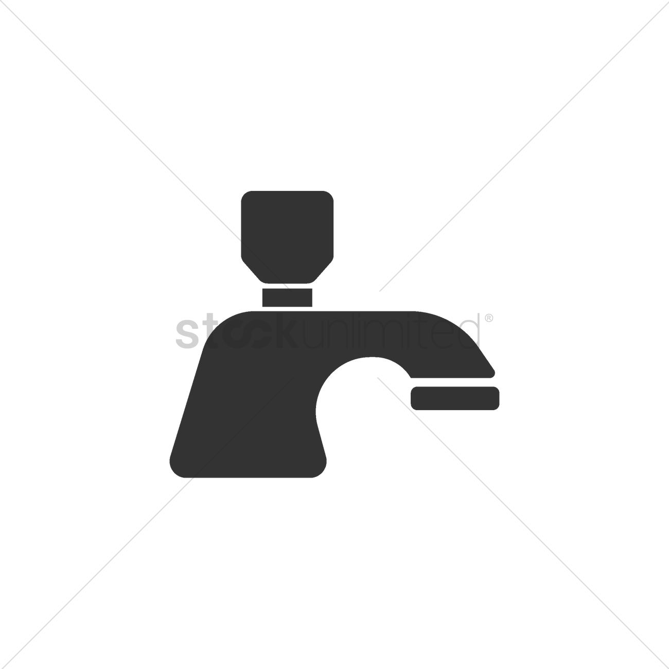 Water faucet Vector Image - 2002898 | StockUnlimited