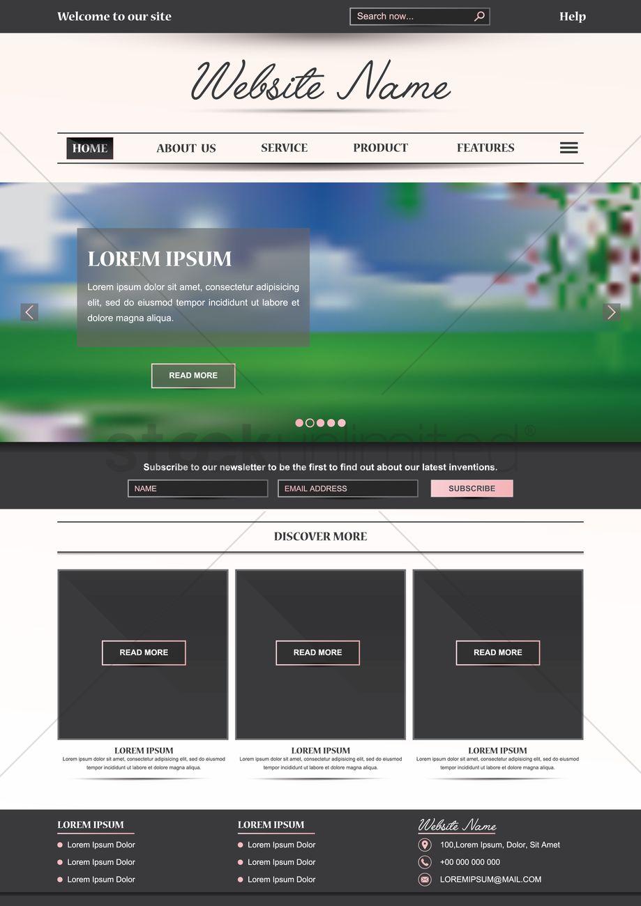Ungewöhnlich Luxus Website Vorlagen Ideen - Beispielzusammenfassung ...