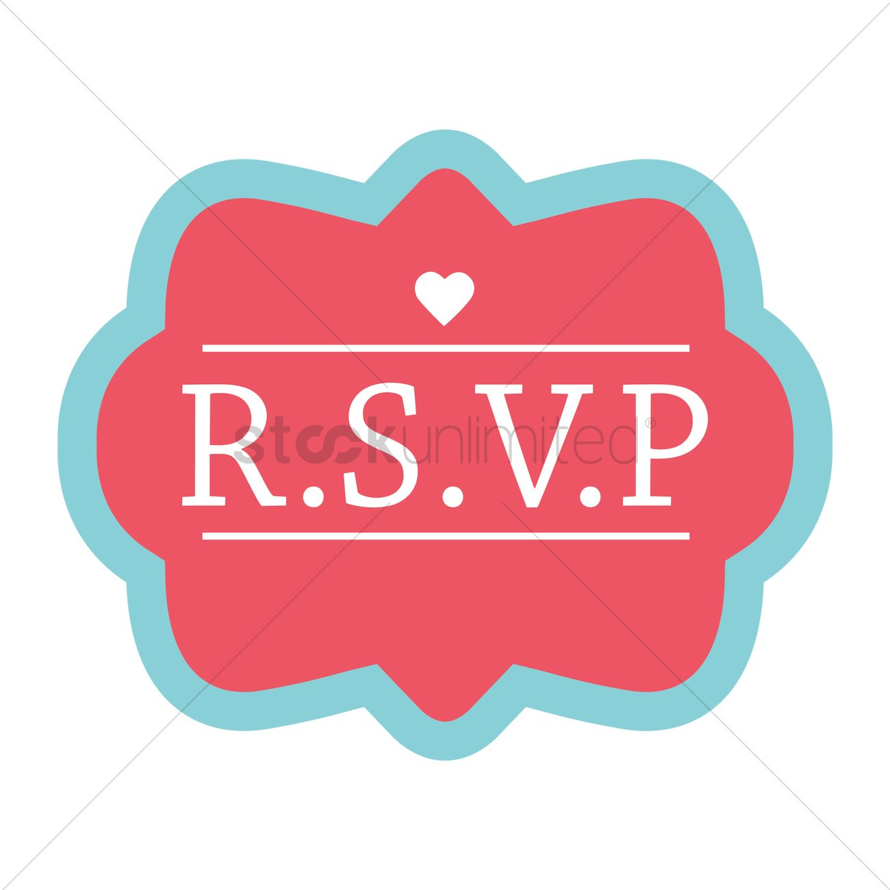 Wedding invitation design Vector Image - 1986242 | StockUnlimited