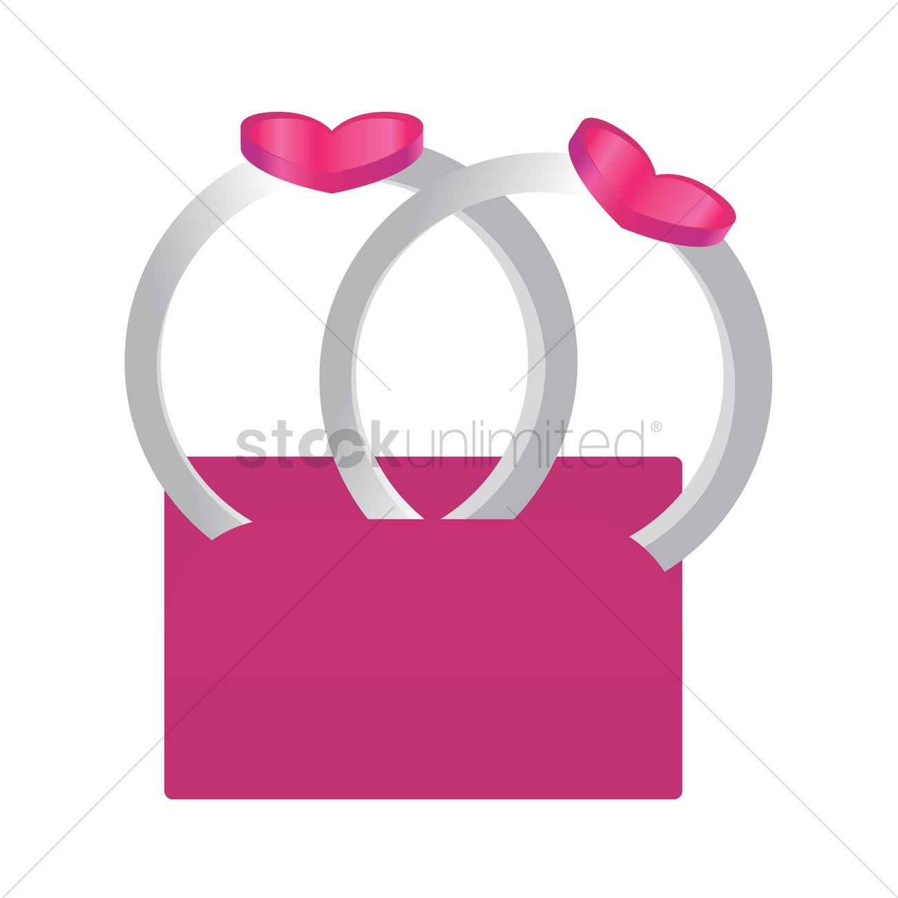 Wedding rings Vector Image - 1332214 | StockUnlimited