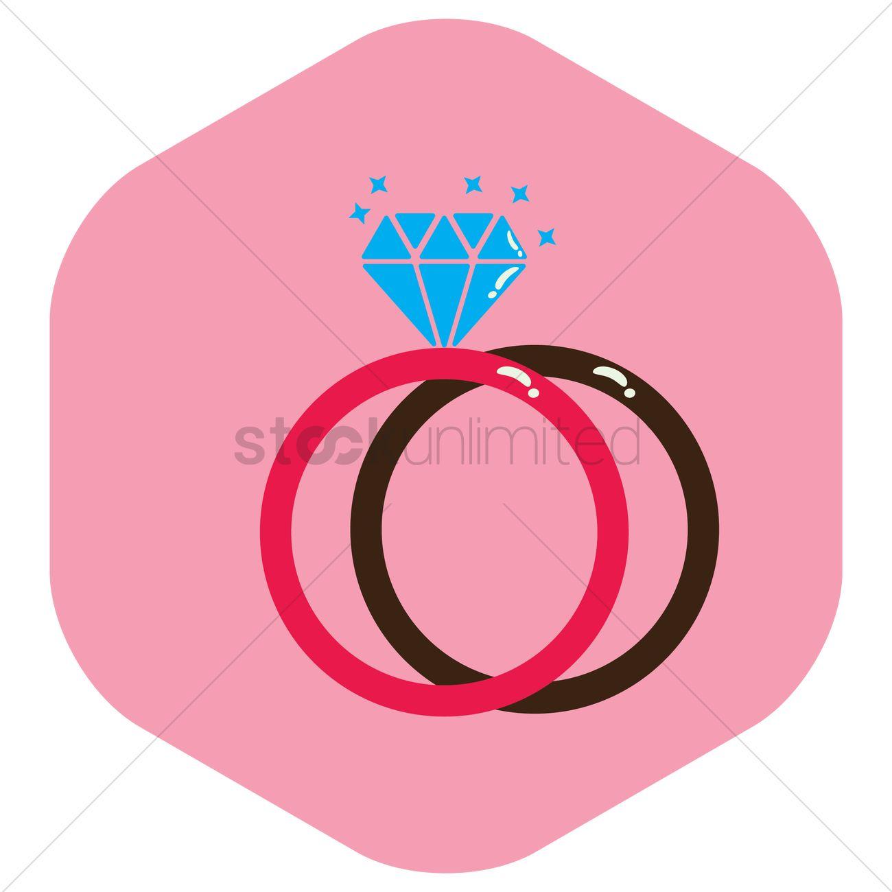 Wedding rings Vector Image - 1446798 | StockUnlimited
